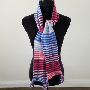 3/$20 American Eagle Wool Striped Tassel Scarf